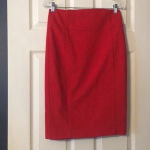 Size 4. Express red skirt.
